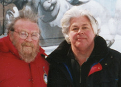 Paul Watson and Sea Shepherd International Chairman Farley Mowat.